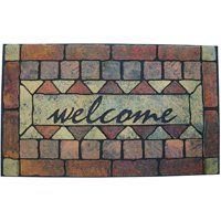 MAT DOOR WELCOME 18IN X 30IN