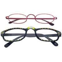 Diamond Visions RG-399 Reading Glasses, Unisex, Metal/Plastic Frame