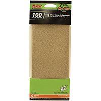 Gator 5042 Sanding Sheet, 100-Grit, Medium, Aluminum Oxide, 9 in L
