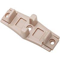 National Hardware 197 Series N344-846 Door Guide, Polyethylene, Tan, 5, Box