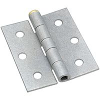 National Hardware N115-576 Screen/Storm Door Hinge, 45 lb Weight Capacity, Galvanized Steel