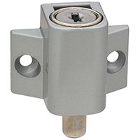 National Hardware N245-969 Patio Door Lock, Steel, Aluminum