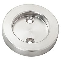 National Hardware N187-054 Cup Pull, Steel, Stainless Steel