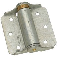 National Hardware N115-105 Spring Hinge, 25 lb Weight Capacity, Galvanized Steel