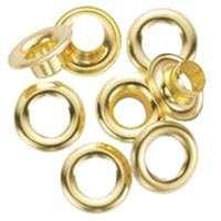 GENERAL 1261-4 Utility Grommet Refill, Brass