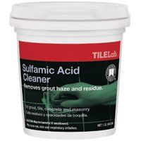 CUSTOM TLSACRA1 Sulfamic Cleaner, 1 lb Pail