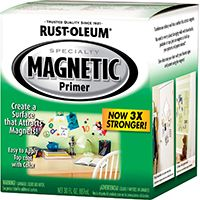 RUST-OLEUM SPECIALTY 247596 Specialty Magnetic Primer, Smooth, 1 qt Can