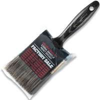 WOOSTER Z1101-3 Paint Brush, 2-11/16 in L Bristle, Steel Ferrule