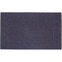 Simple Spaces Door Mat, 18 In W X 30 In L, Crumb Rubber