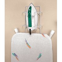 ClosetMaid 3458 Ironing Caddy, 7-1/2 in W, 5-1/2 in D, Wall Mounting, Steel