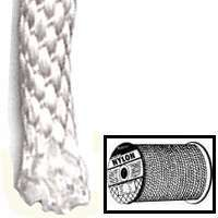 Wellington 10128 Rope, 500 ft L, 1/4 in Dia, Nylon