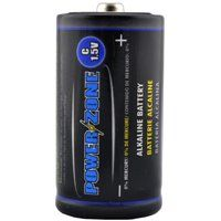 PowerZone Alkaline Battery, 1.5 V, C