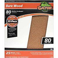 Gator 3277 Sanding Sheet, 80-Grit, Garnet