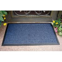 Simple Spaces Gateway Door Mat, 30 In L X 18 In W, Rubber