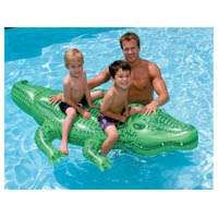 INTEX 58562EP Ride-On Floating Giant Gator, Vinyl