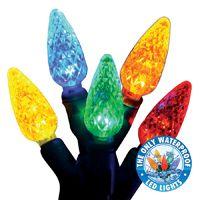 Holiday Bright Lights Commercial Grade Led Reel Light Set, 100