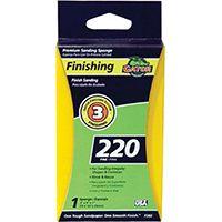 Gator 7302 Sanding Sponge, 220-Grit, Aluminum Oxide