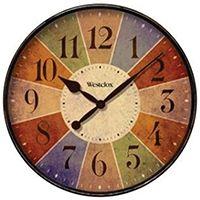 Westclox 32897 Wall Clock, Round, Analog