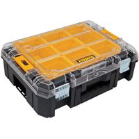 DeWALT DWST17805 Tool Organizer with Clear Lid, 17.16 in W, Plastic