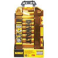 DeWALT DWMT73814 SAE Socket Set, Chrome Vanadium Steel, 10-Piece