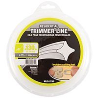 ARNOLD WLS-1130 Trimmer Line, 0.13 in Dia, Nylon