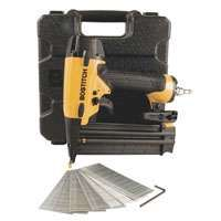 Bostitch BT1855K Brad Nailer Kit, 1/4 in Air Inlet, 110 Magazine, 2-1/8 in Fastener