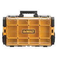DeWALT ToughSystem DWST08202 Parts Organizer, 44 lb Storage, Foam, Black