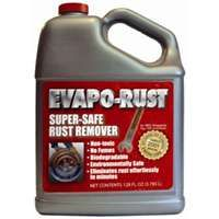 Evapo-Rust ER012 Super Safe Rust Remover, 1 gal, Jug, Clear to Bright Yellow, Liquid