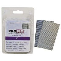ProFIT 0712504 Finish Nail, 2 in L, 16 ga, Electro-Galvanized