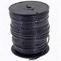 Southwire 8BLK-STRX500 Stranded Building Wire, 8 AWG, 500 ft L, Black Nylon Sheath