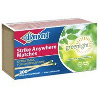 diamond 02123 Strike Anywhere Fire Match, 300-Stick Box