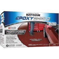 RUST-OLEUM EPOXYSHIELD 238468 Floor Coating Kit, Tile Red, Semi-Gloss