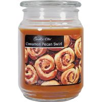 Candle-Lite 3297549 Jar Candle, Caramel Brown