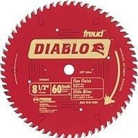Diablo D0860S Circular Saw Blade, 8-1/2 in Dia, Carbide Cutting Edge, 5/8 in Arbor, Steel