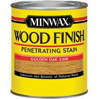 Minwax Wood Finish 22102 Wood Stain, Golden Oak, 0.5 pt Can