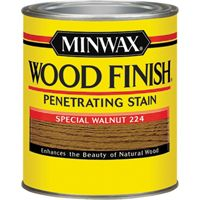 Minwax Wood Finish 22240 Wood Stain, Special Walnut, 0.5 pt Can