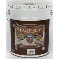 Ready Seal 525 Stain and Sealer, Dark Walnut, 5 gal Pail