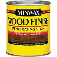 Minwax Wood Finish 22250 Wood Stain, Red Mahogany, 0.5 pt Can