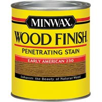 Minwax Wood Finish 22300 Wood Stain, Early American, 0.5 pt Can