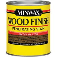 Minwax Wood Finish 22750 Wood Stain, Jacobean, 0.5 pt Can
