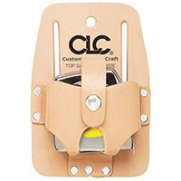 CLC Tool Works 464 Tape Holder, 1-Pocket, Leather, Tan