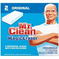 MR CLEAN 43515 Magic Eraser, 4.6 in L, 1 in Thick