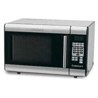 Cuisinart CMW-100 Microwave Oven, 1 cu-ft Capacity, 1000 W, Stainless Steel, Black