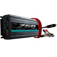 Schumacher PI-750 Power Inverter, 10/15 VDC Input, 110/128 V Output