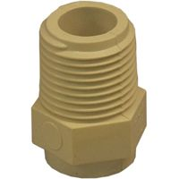 GENOVA 500 Series 50405 Male Adapter, 1/2 in MIP, 1/2 in Slip
