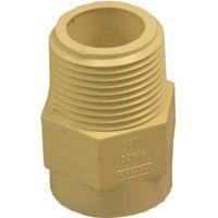 GENOVA 500 Series 50407 Male Adapter, 3/4 in MIP, 3/4 in Slip