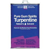 Klean Strip QGT69 Turpentine Gum Spirit Thinner, 1 qt