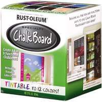 RUST-OLEUM SPECIALTY 243783 Chalkboard Paint Tint Base, 1 qt Can