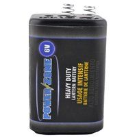 PowerZone Heavy Duty Lantern Battery, 6 V