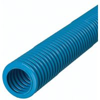 Carlon Flex-Plus 12007-UPC ENT Flexible Raceway, 10 ft L, PVC, Blue